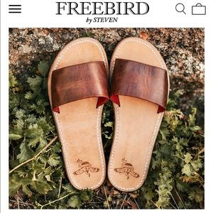 FreeBird by Steven Leather Sandals Size 8